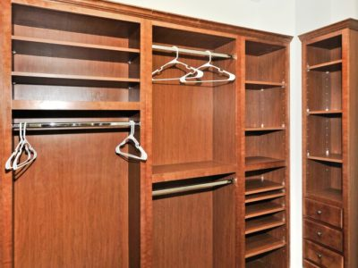 5b - Master Bedroom Closet with organizers