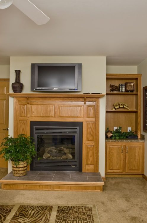 Fireplace Cabinet
